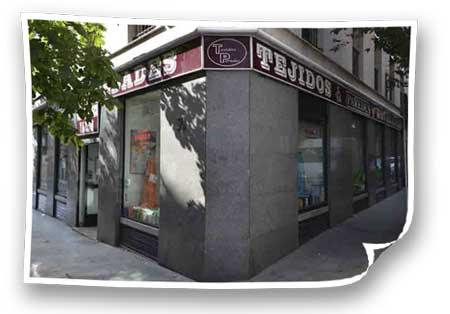 Tienda Tejidos Paredes Atocha
